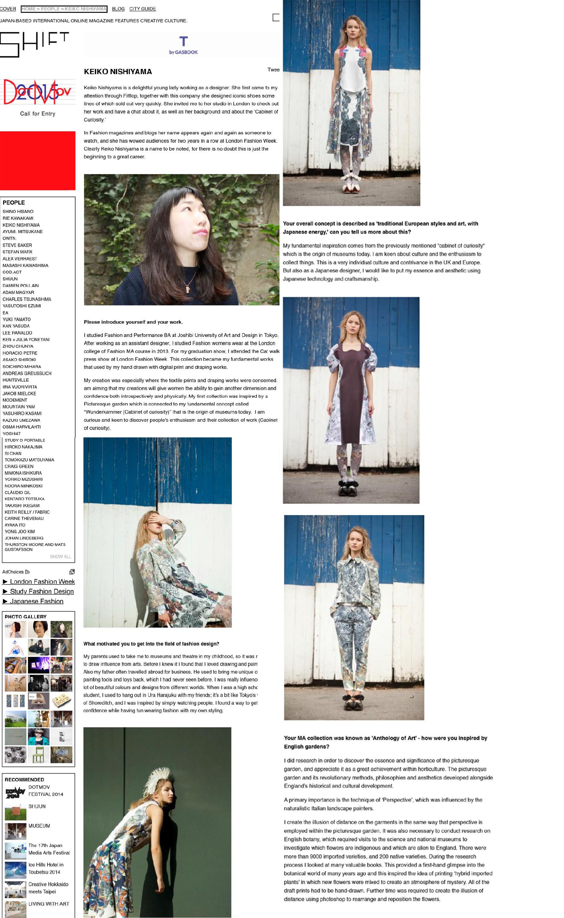 SHIFT MAGAZINE - March 2015