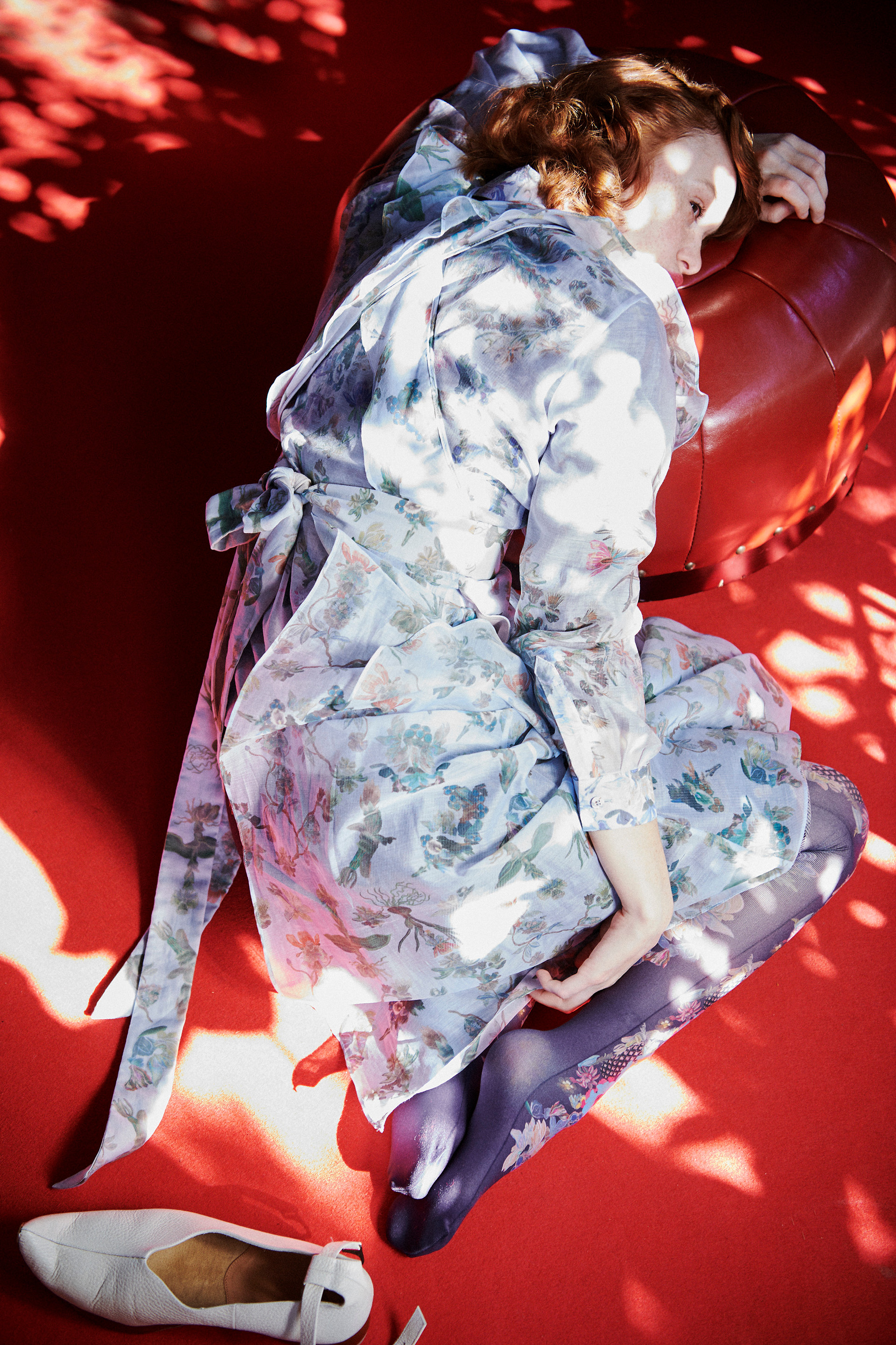 Keiko Nishiyama Frill tiered dress