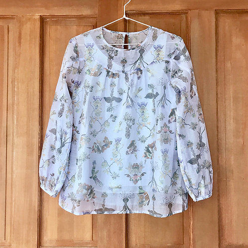 Encyclopedia of flower valley blouse