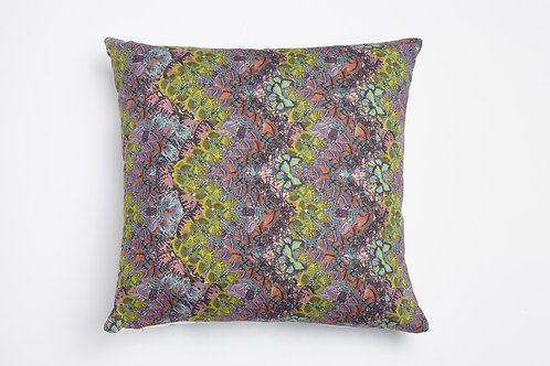 Papilio ulysses PRINT CUSHION SQUARE