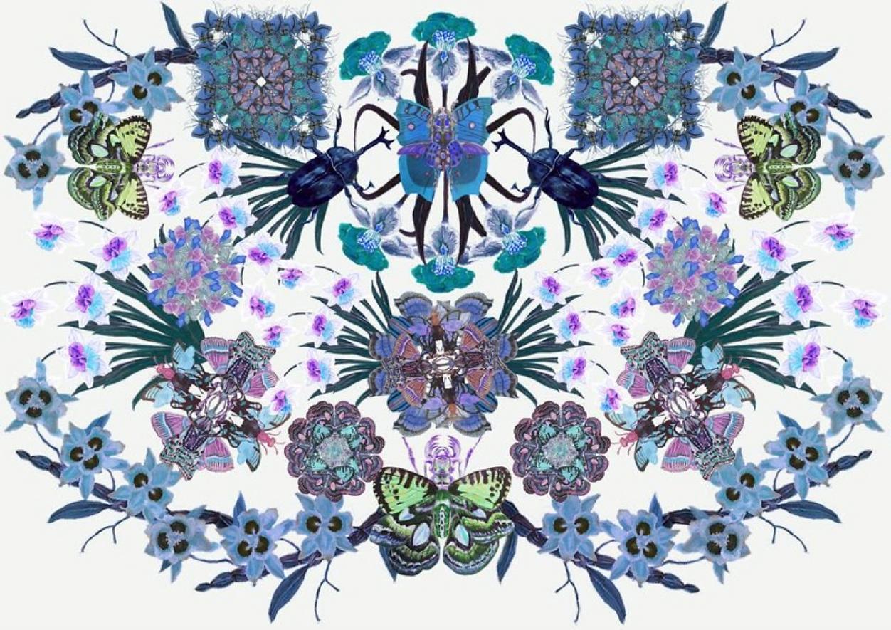 Keiko Nishiyama background illustrations