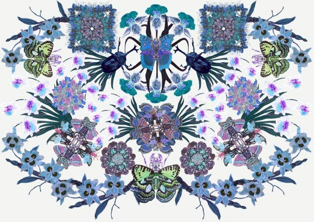 Keiko Nishiyama illustration background