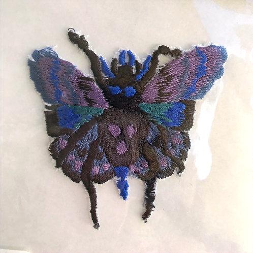 Araneae Butterfly Patch by Keiko Nishiyama