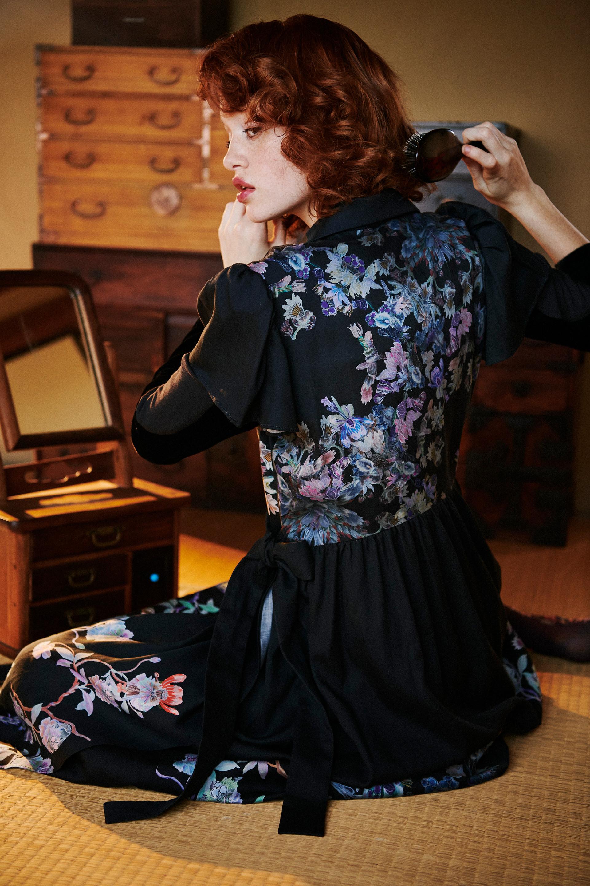Keiko Nishiyama Kashkour Black dress
