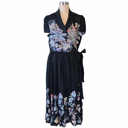 Kaleidoscope  Cache-coeur dress