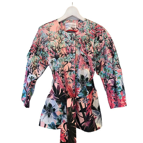 Picturesque garden blouse &  jacket-pink