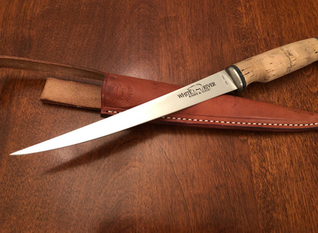 """Gear Review:  White River Knife & Tool 8.5"""" Fillet Knife – Traditional Cork"""