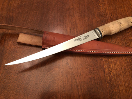 "Gear Review:  White River Knife & Tool 8.5"" Fillet Knife – Traditional Cork"