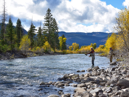 Fishing Yellowstone - Three Generations, Six Rivers, Four Days.