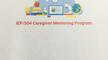 IEP/504 Caregiver Mentoring Program