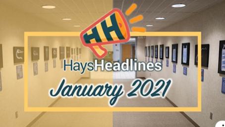 January Hays Headlines
