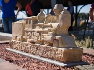 Felten's Locomotive at Home in Hays
