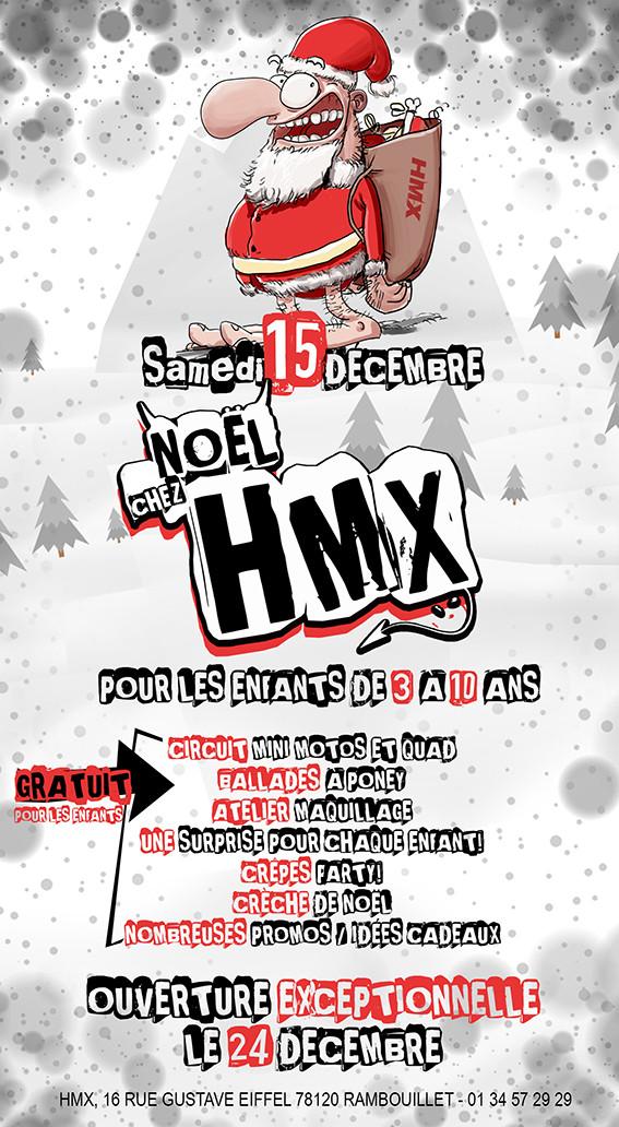 Le Samedi 15 Décembre NOËL chez HMX pour les enfants de 3 à 10 ans
