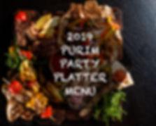 Purim Party Platter