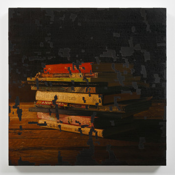 Painting of incomplete remains #43