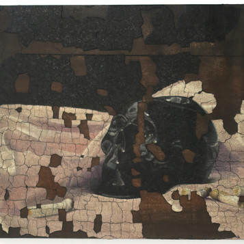 Painting of incomplete remains #5