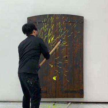 Heaven's Door work in progress