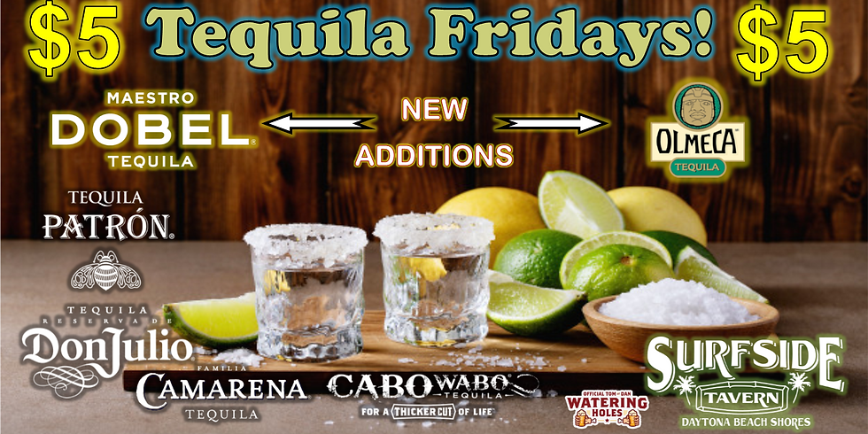 Tequila Fridays with Rachel & Christina!