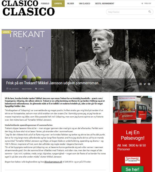 Clasico om TREKANT og Mikkel Jønsson