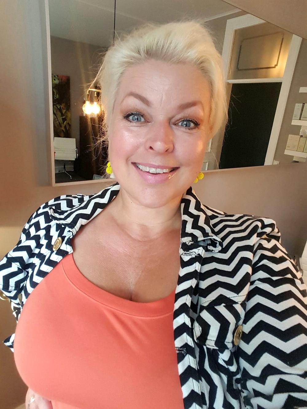 Hannah Lund god hud over 50