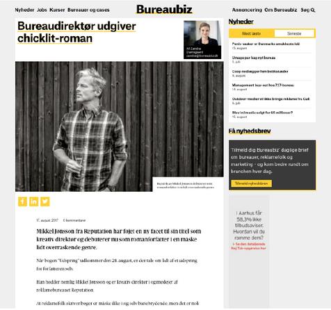 Bureaubiz om Mikkel Jønsson og UDSPRING