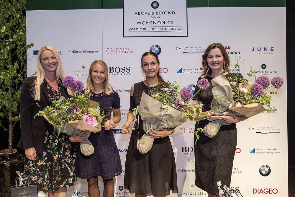 Tine Willumsen, Christine Spiten, Sheela Søgaard, Geena Davis