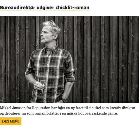 Bureaubiz om UDSPRING og Mikkel Jønsson i  nyhedsbrev