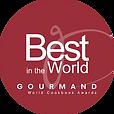 Best in world World Cookbook Awards logo