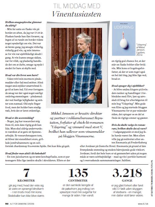 Alt for Damerne om Mikkel Jønsson