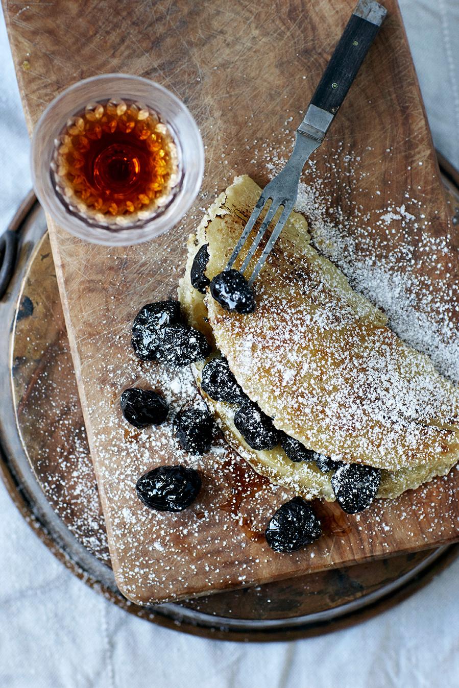 Russisk omelet opskrift vinterdessert Hannah Lund 1900 Til bords