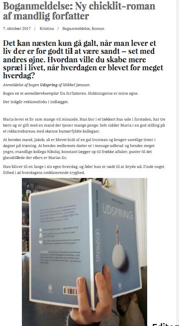 Readers World om UDSPRING
