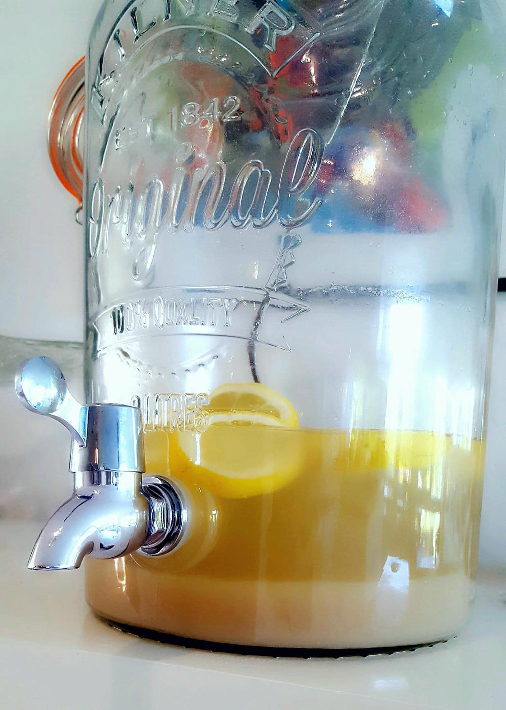 Citron- og bygdrik - Lemon Barley Water