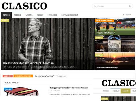 Clasico om UDSPRING og Mikkel Jønsson forsiden Livsstil