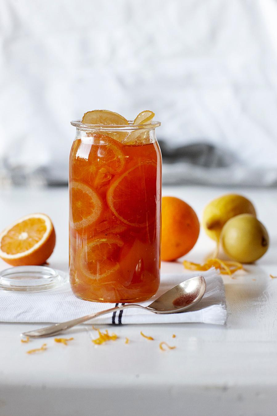 Appelsinmarmelade god opskrift Hannah Lund 1900 Til bords