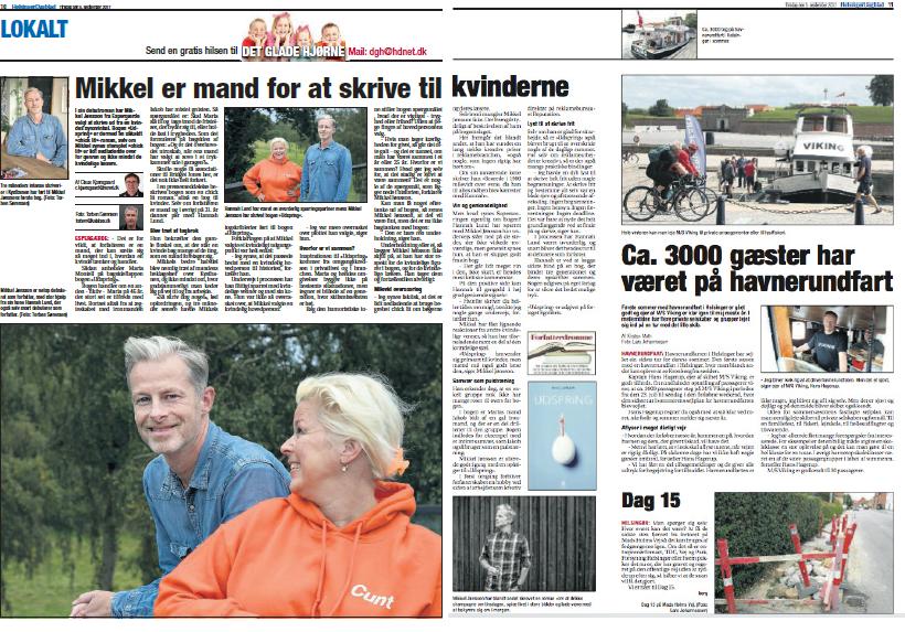 Helsingør Dagblad om Udspring og Mikkel Jønsson