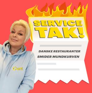 Nyt podcast Service TAK Danske restauranter smider mundkurven Hannah Lund