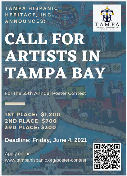 THHI 2021 Poster flyer call for artsist