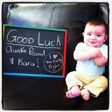 Never too young to start following finity! I love my nephew Nolan;)
