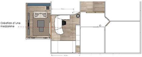 etage-plan-sketchup-alsace-java-archi-deco
