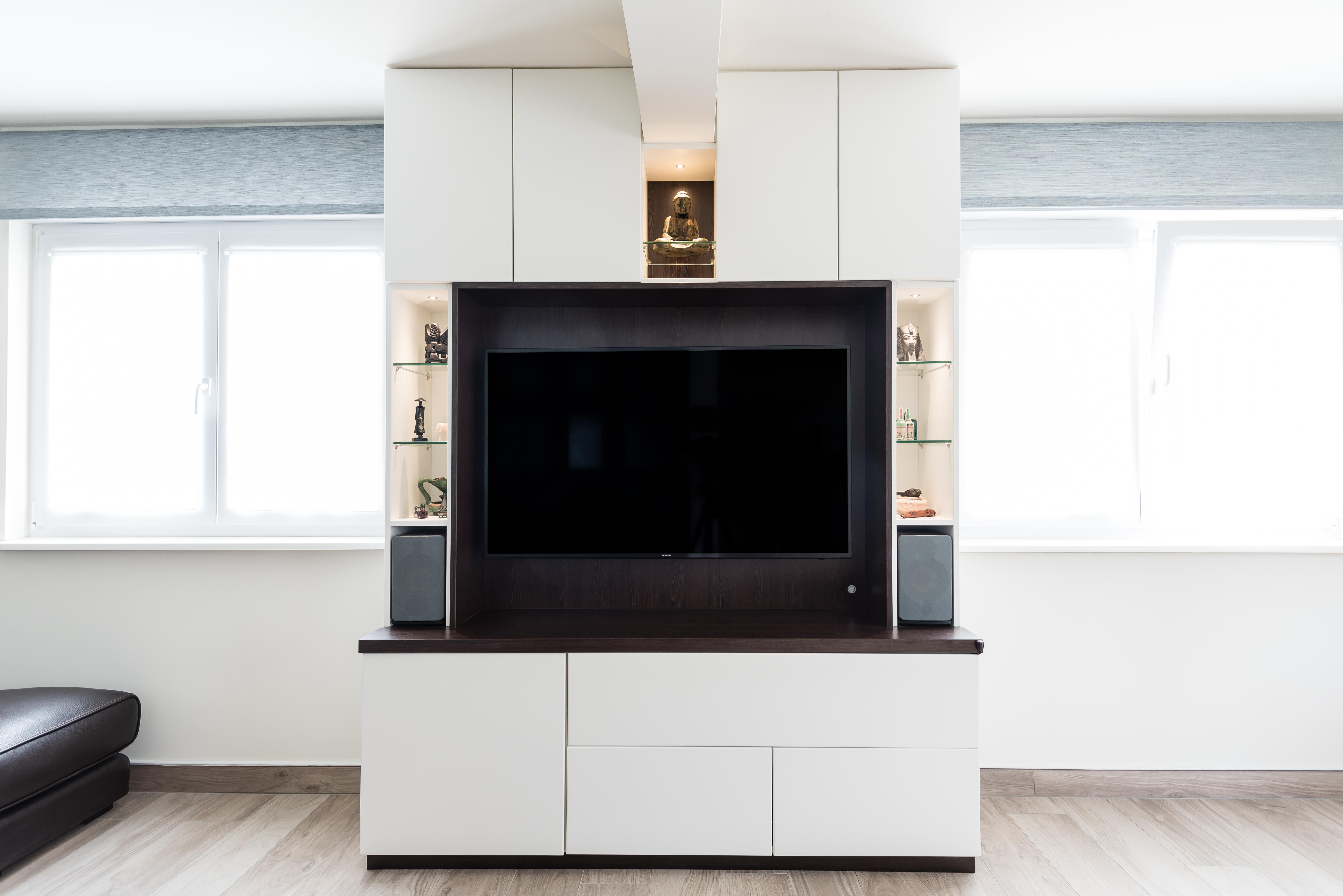 meuble sur mesure tele
