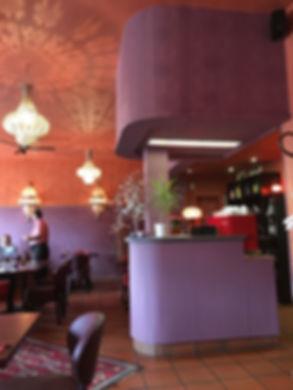 Restaurant/ Couscoussière/ Huningue/ rénovation/ Java décorateurs/ Logo/ couleurs/ architecte d'intérieur/ rénovation