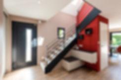 entrée-renovee-deco-design-rampe-architecte-interieur-alsace