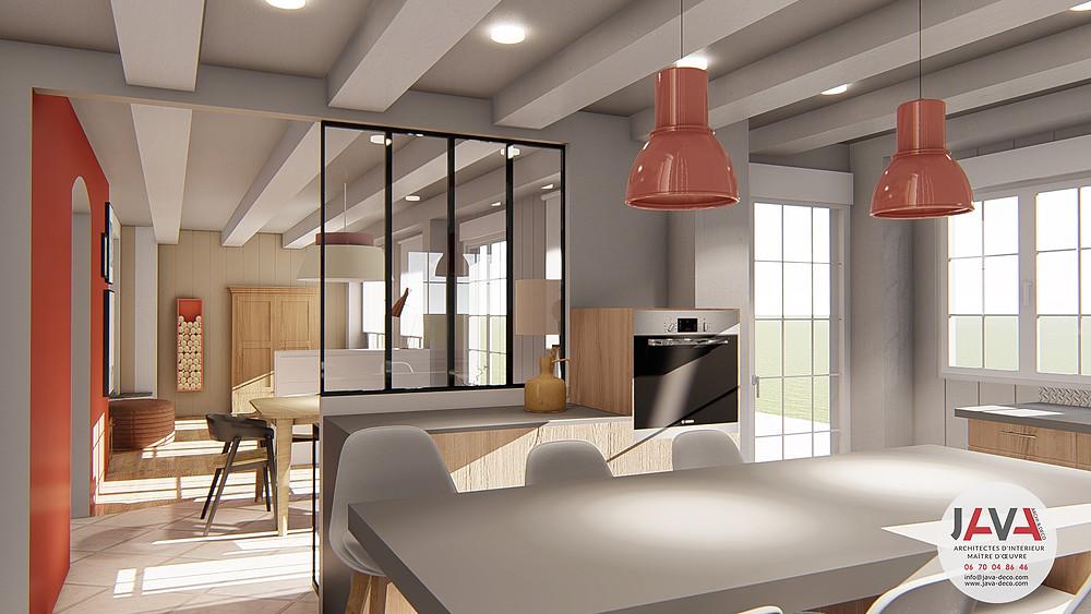 cuisine-verriere-salon-lumion-sketchup-renovation-java-architecte-decorateur-d'interieur-alsace-turckheim