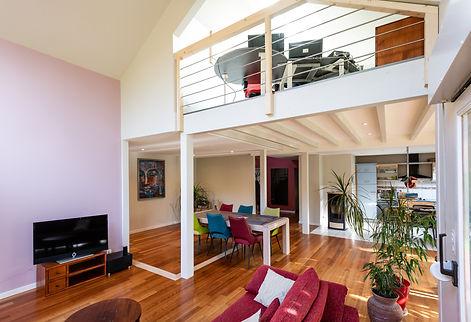 salon-meuble-tv-mezzanine-salle-a-manger-java-maitre-d'oeuvre-architecte-decorateur-alsace-haut-rhin