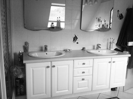 aménagement/ salle de bain/ maison
