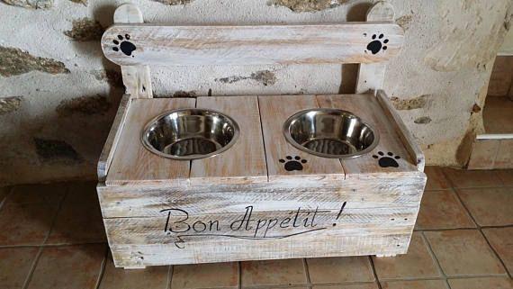 créer une mangeoire pour chien personnalisé