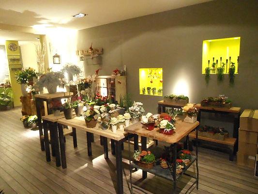 Fleuriste/ Cerise Verte/ Turckheim/ rénovation/ Java decorateurs/ rafraîchissement/ décoration/ bois/ métal/