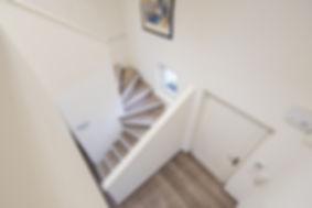 porte d'entrée escalier
