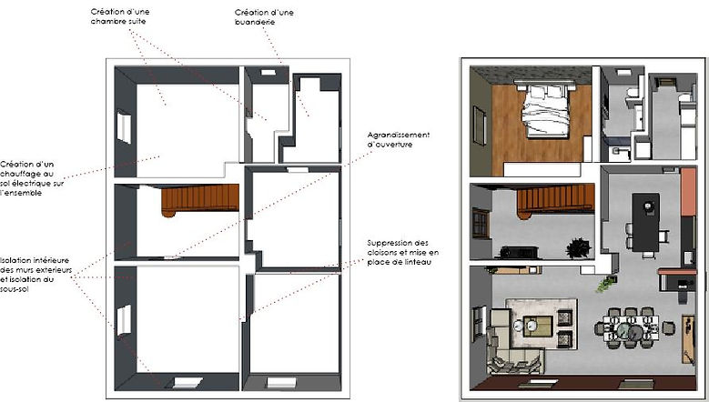 plan-sketchup-avant-apres-java-architecte-decorateur-alsace