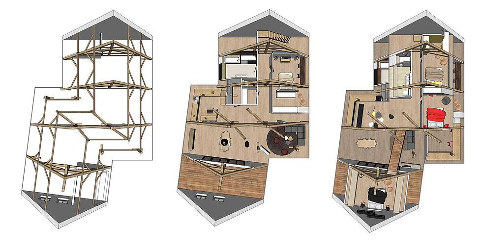 Renovation/Combles/Java decorateurs/Architecte d'interieur/Maitre d'oeuvre/Tendance/Deco/Habitat/Chantier/Alsace